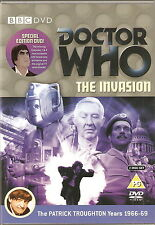 DOCTOR WHO - THE INVASION. Patrick Troughton. BBCTV 1968 (2xDVD SET 2006)