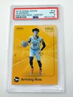 📈🔥JA MORANT 2019-20 PANINI HOOPS ARRIVING NOW ROOKIE WINTER PSA 9 non-holo📈🔥