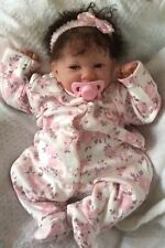 BEAUTIFUL REBORN BERENGUER BABY DOLL ROOTED HAIR
