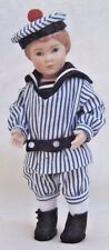"""8-8.5""""ANTIQUE BOY DOLL SAILOR/MIDDY/KNICKERS&SHIRT&TAM&SHOES&STOCKINGS PATTERN"""
