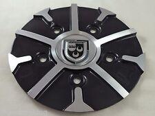 Lexani Wheels Gloss Black / Silver Custom Wheel Center Cap # C-314-2
