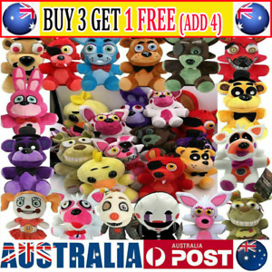 Five Nights at Freddy FNAF Horror Game Kid Plushie Toy Plush Dolls Kids Gift OZZ