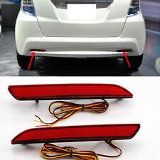 Rear Bumper Lights Fog lamp lights LED 1 Set for Honda Fit /JAZZ  2011-2013