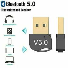 USB Bluetooth5.0 Adapter Wireless Dongle Stereo Receiver Audio For TV PC Laptop.