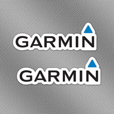 "2x Garmin 6"" GPS Full Color Stickers Decals Fishing Boat Trailer Lure Tackle Box"