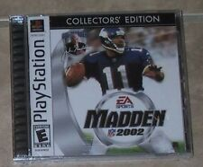 Madden NFL Football 2002 Collector's Edition NEW Playstation 1 PSX PS1