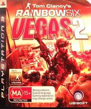 RAINBOW SIX VEGAS 2(Sony PlayStation 3) FREE POSTAGE WITHIN AUSTRALIA