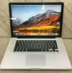 """Apple MacBook Pro 15"""" A1286 (2012) Core i7 2.3 Ghz 8 GB Ram 250 GB SSD Warranty"""