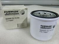 N51 Evinrude Johnson OMC 778887 Oil Filter OEM New Factory Boat Parts