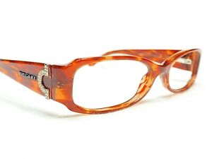Bvlgari 4007-B 873 Women's Brown Marble Rx Designer Eyeglasses Frames 52/15~135
