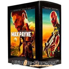 Max Payne 3 Edition Spéciale (Sans jeu) PC PS3 Xbox 360 Neuf