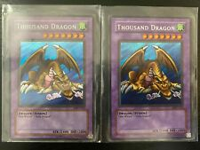 YuGiOh! Thousand Dragon Set of 2 MRD 143 - Holographic/Foil Mint