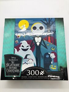 Ceaco The Nightmare Before Christmas 300 Piece Jigsaw Puzzle With Bonus Poster