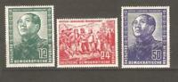 GERMANY GDR Sc 82 to 84   Mao  mint nh  VF