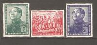 GERMANY GDR Sc 82-84   Mao  mint nh  VF