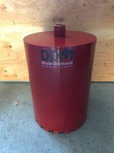 "12""-Inch Dixie Diamond Professional Grade Segmented Wet Hole Core Diamond Bit"