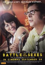 Battle of the Sexes (2017) A5 Poster - Emma Stone, Steve Carrell