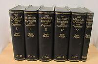 Die Religion in Geschichte und Gegenwart, 2.Auflage, Band 1-5 + Register, 1927