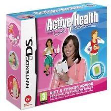 Active Health With Carol Vorderman Diet & Fitness Activity Metre Nintendo DS