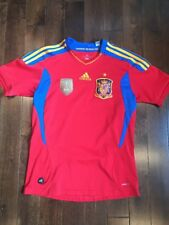 Spain World Cup 2010/11 Champions patch shirt jersey Adidas Espana Youth XL