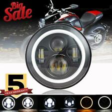 DOT 7 in LED Headlight Halo Motorcycle For Yamaha Road Star S XV1700AS 2008-2013