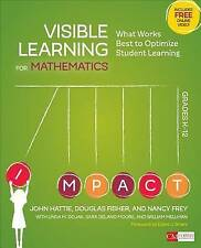 Visible Learning for Mathematics: What Works Best to Optimize Student Learning: