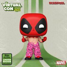 Marvel Deadpool With Teddy Belt ECCC 2021 US Funko Pop Vinyl #754