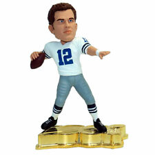 Dallas Cowboys Roger Staubach Gold #/100 figure New in Box Bobblehead NFL