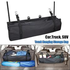 Car Trunk Seat Back Storage Bag Folding Bike Organizer Cargo Net Luggage Holder