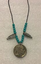 Buffalo Nickel Native Style Necklace