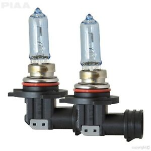 PIAA 23-10195 9005/HB3 Xtreme White Hybrid Replacement Bulb 12V 60W 3900K 2Pcs