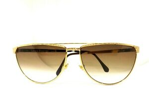 LAURA BIAGIOTTI Sunglasses Woman Retro Vintage Ages 80 V96 Metal Made IN Italy