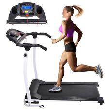 1100W Folding Electric Treadmill Portable Motorized Machine Running Gym