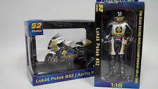 Abrex Aprilia RSW LE ( FIM RRW Championship 2008 ) + Figure Likas Pesek  1:18