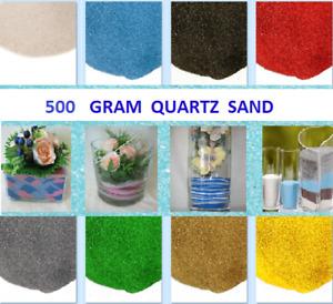 500 G Coloured° Sand Artists Children's Crafts Wedding Floristry Decor GRID