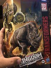 VOYAGER RHINOX War for Cybertron Kingdom Transformers 2021 Hasbro Sealed IN HAND