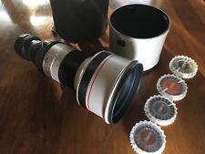 Canon/Van Diemen FD 300mm F/2.8L Manual Focus Lens B4 mount conversion lens.