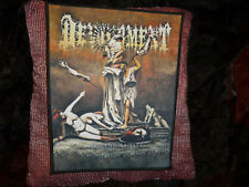 Devourment Backpatch Patch Death Metal Guttural Secrete
