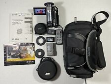 Sony HandyCam DCR-DVD810 Camcorder NightShot W/ Manuals Bag & Accessories Tested