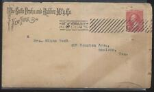 ENVELOPE & LETTERHEAD  GUTTA PERCHA & RUBBER MFG CO NEW YORK NY