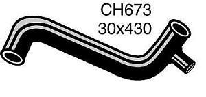 Mackay Radiator Hose (Bottom) CH673 fits Wolseley 18/85 1.8, 1.8 S