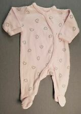Baby Girl Clothes Sterling Baby Preemie Pink Hearts Footed Sleep N Play Outfit