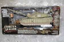 1/32 Unimax FORCES of VALOR UK CHALLENGER TANK BASRA 2003