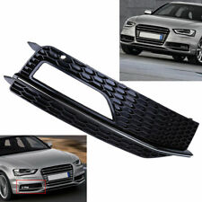 Right Front Bumper Fog Light Grill Cover for Audi A4 B8 S-Line S4 2013-2015