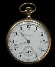 Hamilton - 17 jewel Rail Road Pocket Watch Gold filled case