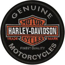 "Harley-Davidson Parche / Emblema"" Round B + S"" Patch EM312642"