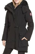 Canada Goose Perley Waterproof 675-Fill-Power Down 3-in-1 Black Parka Size Large