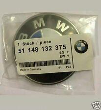 BMW 82mm Emblem Bonnet Boot Badge Set Hood Trunk E30,E36,E46,3,5,7,X Serie