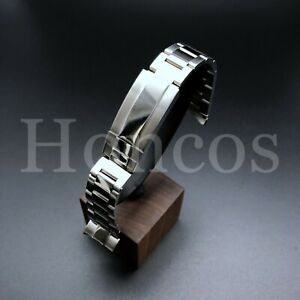 OYSTER WATCH BAND BRACELET FITS ROLEX YACHTMASTER 20MM FLIP LOCK STAINLESS STEEL