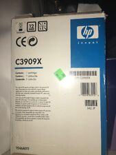 HP C3909X 09X Black Toner Cartridge GENUINE - OEM Box has been opened.